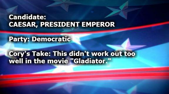 CAESAR PRESIDENT EMPEROR