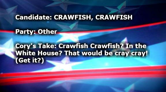 CRAWFISH CRAWFISH