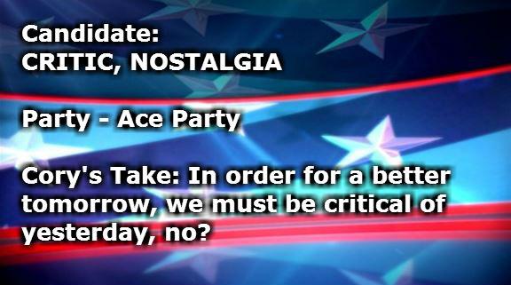 Critic Nostalgia