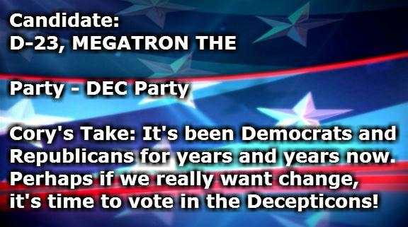 D-23 MEGATRON THE