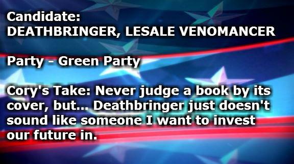 DEATHBRINGER LESALE VENOMANCER