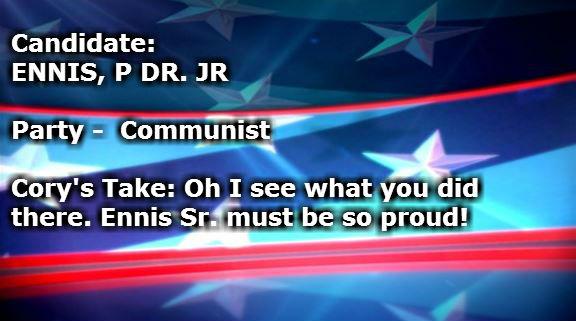 ENNIS P DR JR