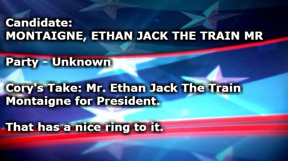 MONTAIGNE ETHAN JACK THE TRAIN MR