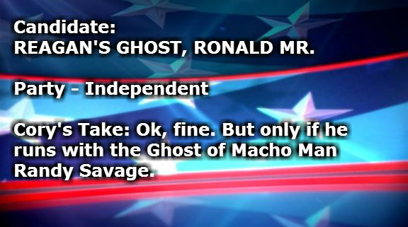 REAGANS GHOST RONALD MR